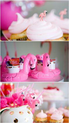 Flamingo Theme Birthday Party - Pretty My Party