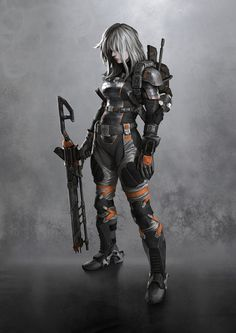 Dia. A third member of the Gyns Unit. An elite task force of a soldiers who fight for the Republic as hired hands.