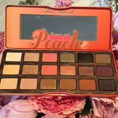 Too Faced Sweet Peach palette for Summer 2016