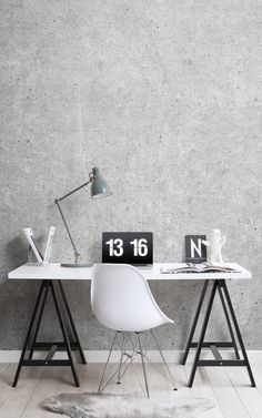Schon Create A Minimalist Scandinavian Style Home Office With Modern Office  Wallpaper Murals And Elevate A Nordic