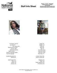 Jasmine B from Jacksonville, Florida #actor #actress #acting #singer #dancer #dancing #model #modeling #sales #salestaff #publicspeaking #promotions #promostaff #productlaunch #event #eventstaffingservices #eventservices #eventjob #eventstaff #corporateevent #jacksonville #florida http://www.nationaleventstaffing.com/