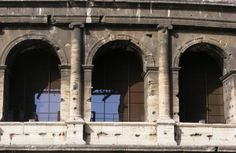 The Ionic Order in the Colosseum, Rome