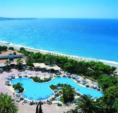 Hotel on the beach of Kalathos