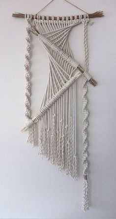 The 25+ best ideas about Macrame Wall Hangings on Pinterest | Handmade wall hanging, Macrame and ...