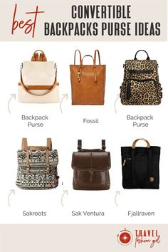 There are many travel bags that serve multiple purposes, and although they tend to be pricier, they can be a worthwhile investment when it comes to having flexibility. Find out why we love a convertible backpack purse for travel! #TravelFashionGirl #TravelFashion #TravelAccessories #backpackpurse #convertiblebackpack #convertiblepurse