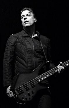 Chris Wolstenholme #Muse #bassist