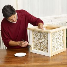 Photo: Mark Weiss | thisoldhouse.com | from How to Build a Christmas Tree Box
