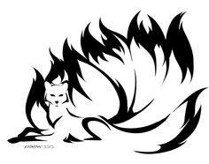 tribal nine tailed fox - Google Search