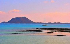 Islote de Lobos, Fuerteventura, Islas Canarias, Spain.