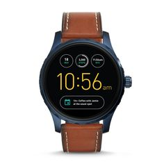 We test and certify all Fossil Q refurbished products and include a two year warranty.Q Marshal is our everyday digital display watch that connects seamlessly to your phone. Strapped in smooth leather, the tech-savvy dial with touchscreen functionality includes the all-new Android Wear™ 2.0's interactive dials (for info at a glance), user-friendly messaging, customizable watch faces and automatic activity tracking. *Powered by Android Wear™ 2.0, Fossil Q Marshal is compatible with phones ...