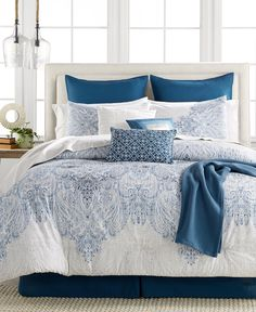 CLOSEOUT! Reverence 14-Pc. Queen Comforter Set - Bed in a Bag - Bed & Bath - Macy's