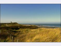 Winderige dag in de duinen bij Domburg