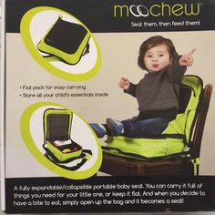 Little one doesn't have to go on her knees on the dining chair anymore, @Moochew3 #BoosterSeat #travelboosterseat https://t.co/bSYw0Tmj7x
