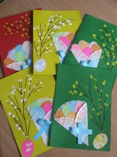 50 awesome spring crafts for kids ideas 35 – Artofit Hobbies And Crafts, Diy And Crafts, Paper Crafts, Easy Valentine Crafts, Diy Y Manualidades, Easter Projects, Easter Art, Art N Craft, Easter Activities