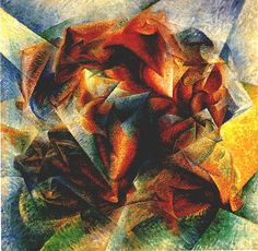 Dynamism of a Soccer Player, Umberto Boccioni