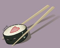 Sushi tattoo design