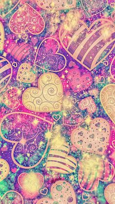She Wolf Galaxy Wallpaper Glitter Phone Wallpaper, Hd Wallpaper Android, Heart Wallpaper, More Wallpaper, Cellphone Wallpaper, Galaxy Wallpaper, Flower Wallpaper, Iphone Wallpapers, Screen Wallpaper