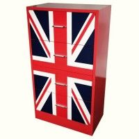 Celebrate all things British and create your own unique Union Jack furniture and accessories with a few cans of Rust-Oleum spray paint.
