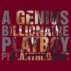 A Genius. Billionaire. Playboy. Philanthropist  ONE DAY ONLY 20% OFF ALL TEES & HOODIES – USE CODE: CYBERRB