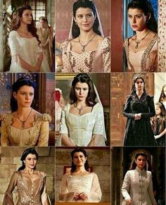 Different poses of kosem sultan # beren saat