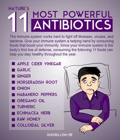 antibiotics natural immune immunity boost