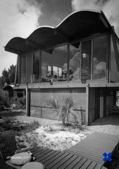 Paul Rudolph /// Ingram Hook Guest Residence /// Siesta Key, Sarasota, Florida, USA /// 1953