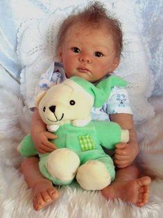ภเгคк ค๓๏ Cute Baby Dolls, Baby Girl Dolls, Baby Girls, Reborn Baby Girl, Reborn Baby Dolls, Little Babies, Cute Babies, Baby Pop, Silicone Reborn Babies