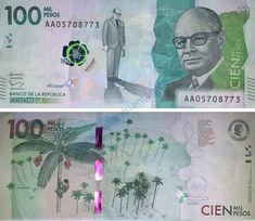 Moneda de Colombia   El peso colombiano y los nuevos billetes de Colombia Bank Account Balance, Typography Logo, Coin Collecting, I Got This, South America, My Money, Around The Worlds, Louis Xvi, Culture