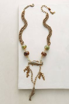 at anthropologie Pesce Pendant Necklace