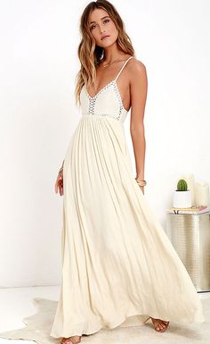 Californication Crochet Top Maxi Dress