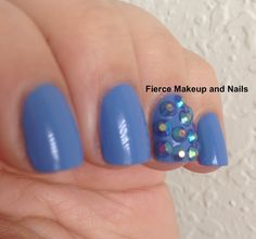Fierce Makeup and Nails: Hello Kitty: Blueberry