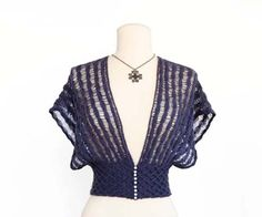DROP STITCH SHRUG Designed by Jill Wright Using Zealana AIR