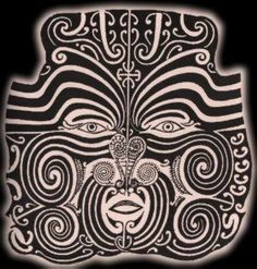 Creation Myth of the Maori – New Zealand Hawaiian Tribal, Hawaiian Tattoo, Doodles Zentangles, Tahiti, African Tribal Tattoos, Ta Moko Tattoo, Polynesian People, Celtic Tattoos, Maori Tattoos
