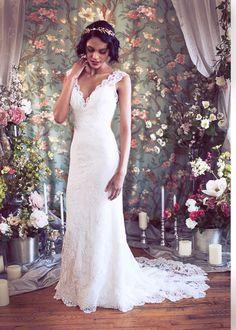 Wedding dress by Rosaline — Rebecca Schoneveld