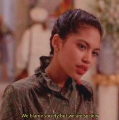 We blame society but we are society. December 31 2019 at fashion-inspo Movie Lines, Film Quotes, Quote Aesthetic, Mood Quotes, Beautiful Words, Quotations, Inspirational Quotes, Deep, Thoughts