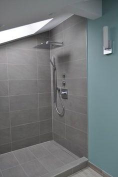 Lakeview loft bathroom - modern - bathroom - chicago - Delta Star Group Inc.