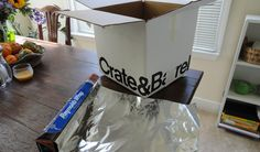 A Faraday cage is easy to make by wrapping a cardboard box with aluminum foil.