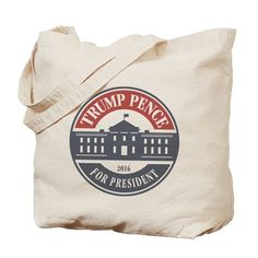Up to off Canvas Tote Bags at CafePress. Find great designs on natural canvas Tote Bags or browse a variety of other bag styles like Messenger Bags and Drawstring Backpacks. Us Election 2016, Trump Pence, Canvas Tote Bags, Fashion Bags, Fashion Handbags, Canvas Totes