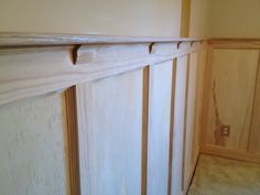 interesting wainscoting panels with oak wood material for interior wall decor
