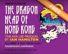Books and Quilts: The Dragon Head of Hong Kong by Ian Hamilton