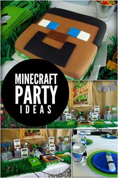 Planning a Minecraft party? You'll dig these Minecraft boy birthday party ideas for invitations, decorations and themed favors and treats.