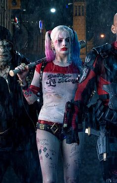 Margot Robbie as Harley Quinn The Suicide Squad
