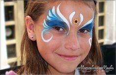 Princess Face Painting Designs