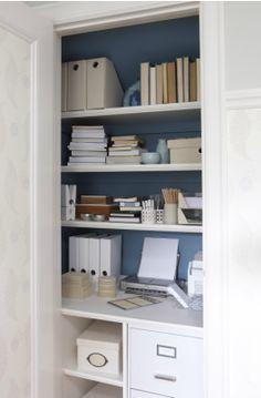 office in closet. Sarah Richardson Design Denslibrariesoffices Para Paints Vista Closet Office In Desk Close