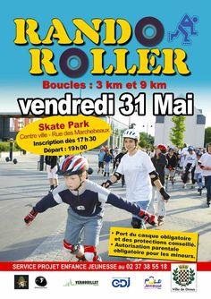 Rando Roller vendredi 31 mai à Dreux !