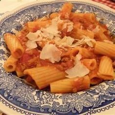 Bolognese with Homemade Noodles