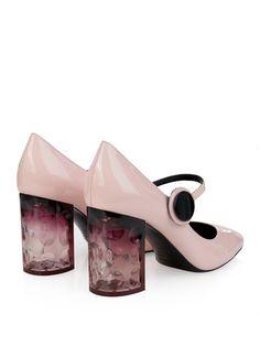 Carnaby patent-leather block-heel pumps | Nicholas Kirkwood | MATCHESFASHION.COM UK | #MATCHESFASHION
