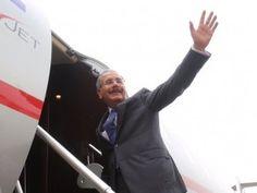 Presidente Medina viajará el lunes a Colombia