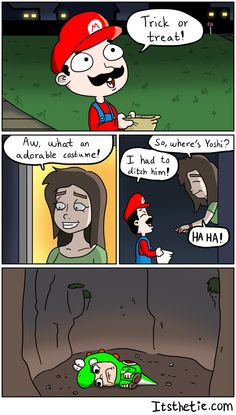Mario got no chill