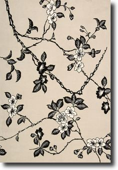 This Modern Elegance Black Whit Collection rug is manufactured by Nourison. Let Yourself Explore the Feel of These Luxurious Handmade Wool Rugs. Nourison Rugs, Black White Rug, Floral Area Rugs, Hand Tufted Rugs, Contemporary Rugs, Accent Rugs, White Area Rug, Timeless Design, Timeless Elegance